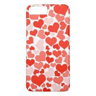 Capas de iphone do ornamento dos corações