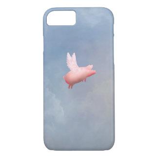 Capas de iphone do porco do vôo