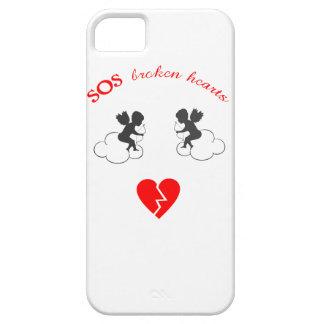 capas de iphone dos corações quebrados