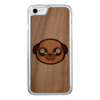 Capas de iphone engraçadas do cão de Kawaii