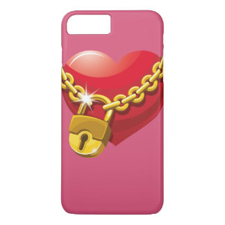 Capas de iphone fechados do coração