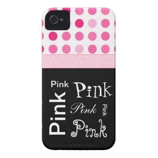 Capas de iphone femininos cor-de-rosa das coisas