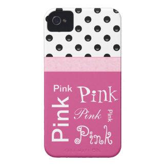 Capas de iphone femininos cor-de-rosa das coisas capas iPhone 4 Case-Mate