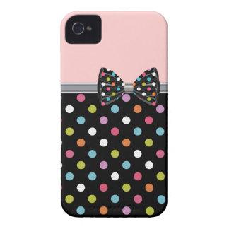 Capas de iphone femininos do arco bonito capinhas iPhone 4