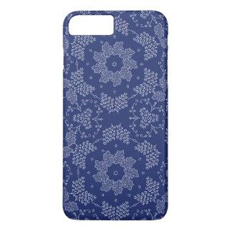 Capas de iphone florais azuis