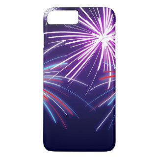 Capas de iphone roxas dos fogos-de-artifício