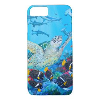 Capas de iphone subaquáticas da pintura -