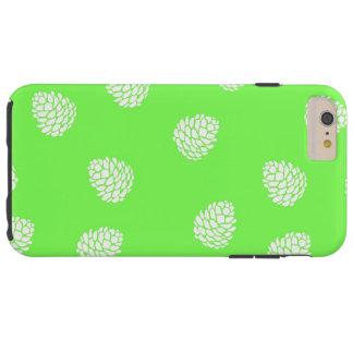 Capas de iphone verdes do design da bolota