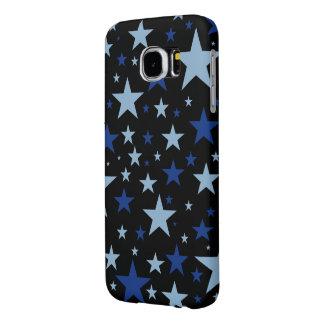 Capas de telefone das estrelas azuis