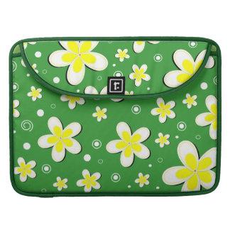 Capas florais de um Macbook de 15 polegadas dos Bolsas MacBook Pro