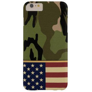 Capas iPhone 6 Plus Barely There Bandeira americana Camo