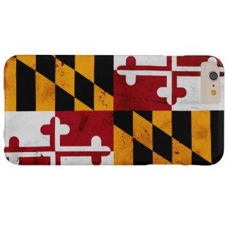 Capas iPhone 6 Plus Barely There Bandeira patriótica do estado de Maryland do