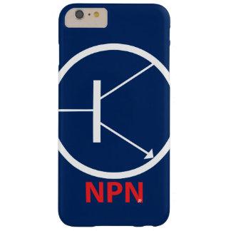 Capas iPhone 6 Plus Barely There iPhone 6 do transistor de NPN positivo, mal lá