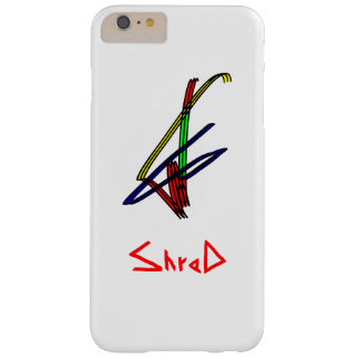 Capas iPhone 6 Plus Barely There Snowboarder do fragmento multicolorido