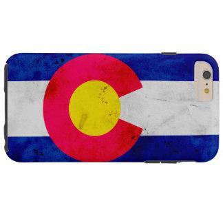 Capas iPhone 6 Plus Tough Bandeira patriótica do estado de Colorado do