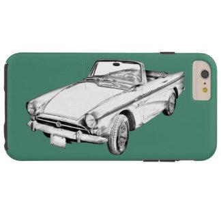 Capas iPhone 6 Plus Tough Ilustração alpina do carro de 5 esportes