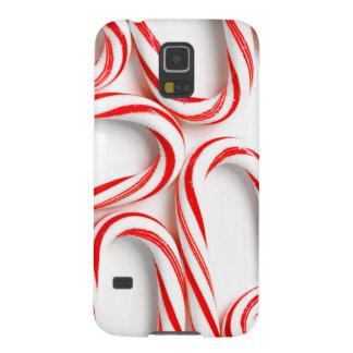Capas Par Galaxy S5 Bastões de doces fabulosos do Natal