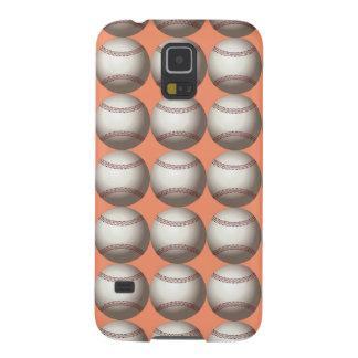 Capas Par Galaxy S5 bola do basebol para o divertimento do basebol