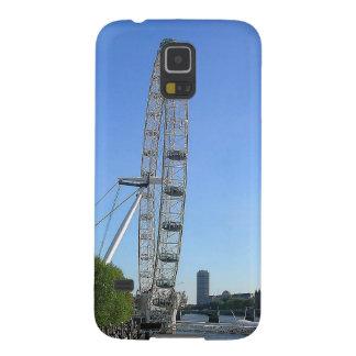 Capas Par Galaxy S5 Caixa da galáxia de Samsung com a roda de Ferris