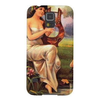 Capas Par Galaxy S5 Caixa da galáxia S5 de Radiana Samsung do vintage