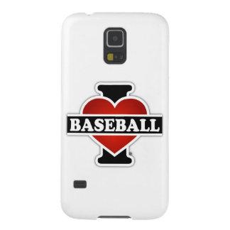 Capas Par Galaxy S5 Eu amo o basebol