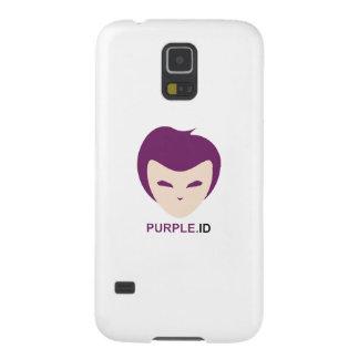 Capas Par Galaxy S5 Identificação roxa