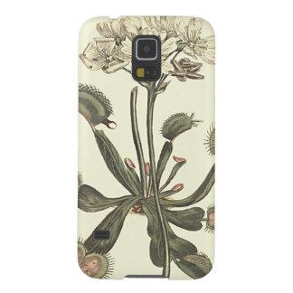 Capas Par Galaxy S5 Ilustração botânica do Flytrap de Venus