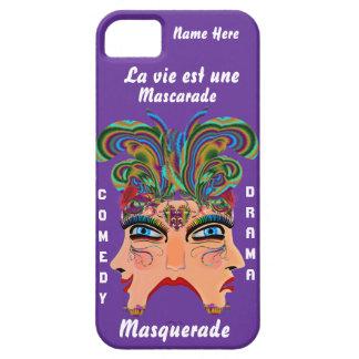 Capas Para iPhone 5 A opinião importante do drama de Masq do carnaval