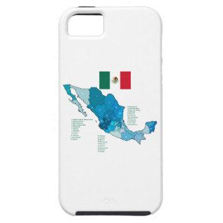 Capas Para iPhone 5 Bandeira e mapa de México