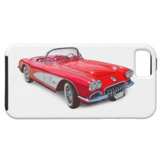 Capas Para iPhone 5 Carro 1958 clássico vermelho convertível de