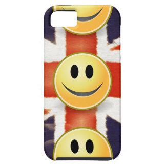 Capas Para iPhone 5 Caso da impressão do iPhone 5 do smiley face de