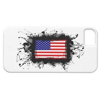 Capas Para iPhone 5 Caso do iPhone 5 da bandeira dos Estados Unidos