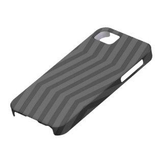 Capas Para iPhone 5 Cinzas no cobrir preto do iPhone 5 do teste padrão