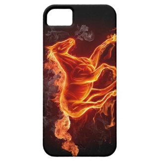 CAPAS PARA iPhone 5 COBRIR DO EXEMPLO DO CAVALO DO FOGO IPHONE5