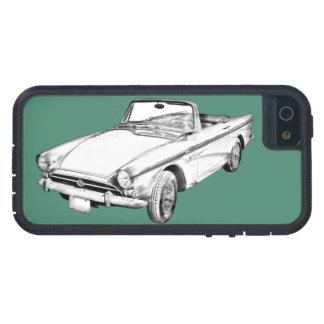 Capas Para iPhone 5 Ilustração alpina do carro de 5 esportes