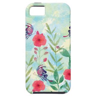Capas Para iPhone 5 jardim botânico VI da aguarela