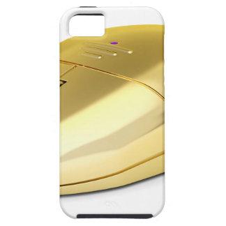 Capas Para iPhone 5 Rato sem fio dourado