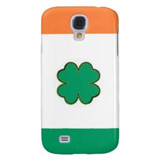 Capas Personalizadas Samsung Galaxy S4 Bandeira do trevo de Ireland