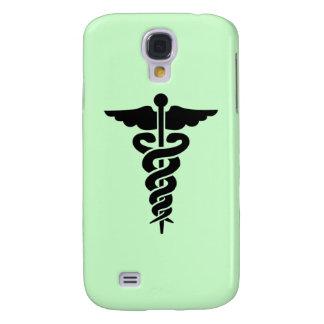Capas Personalizadas Samsung Galaxy S4 Caduceus médico do símbolo