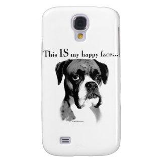 Capas Personalizadas Samsung Galaxy S4 Cara feliz do pugilista