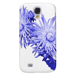 Capas Personalizadas Samsung Galaxy S4 Dália azul
