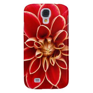 Capas Personalizadas Samsung Galaxy S4 Dália vermelha