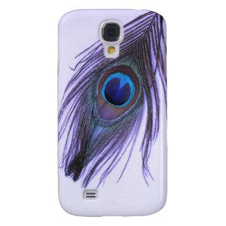Capas Personalizadas Samsung Galaxy S4 Pena roxa 2 do pavão