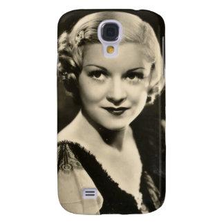 Capas Personalizadas Samsung Galaxy S4 Pinup da estrela de cinema dos anos 30 do vintage