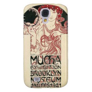 Capas Personalizadas Samsung Galaxy S4 Poster de Brooklyn da exposição de Mucha do