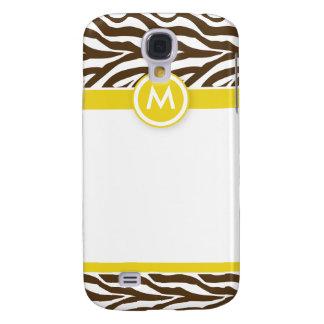 Capas Samsung Galaxy S4 3 limões/chocolates Funky da zebra