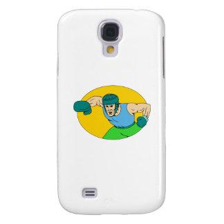 Capas Samsung Galaxy S4 Desenho amador do perfurador de KO do pugilista