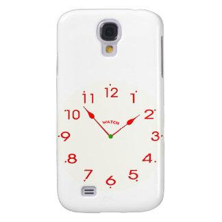 Capas Samsung Galaxy S4 face do relógio