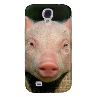 Capas Samsung Galaxy S4 Fazenda de porco - cara do porco