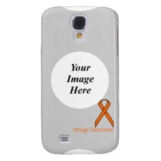 Capas Samsung Galaxy S4 Fita padrão alaranjada por Kenneth Yoncich